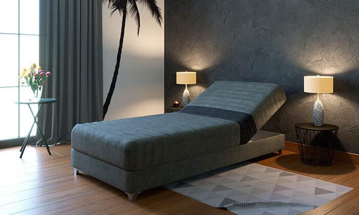 5 מיטת נוער אורתופדית עם ראש מתכוונן RAM DESIGN
