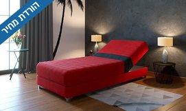 מיטת נוער אורטופדית מתכווננת