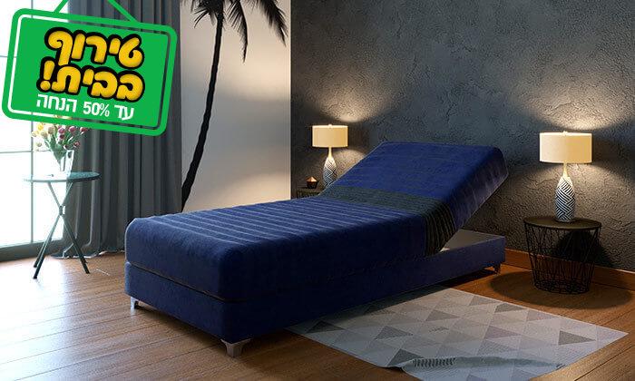 3 מיטת נוער אורתופדית עם ראש מתכוונן RAM DESIGN