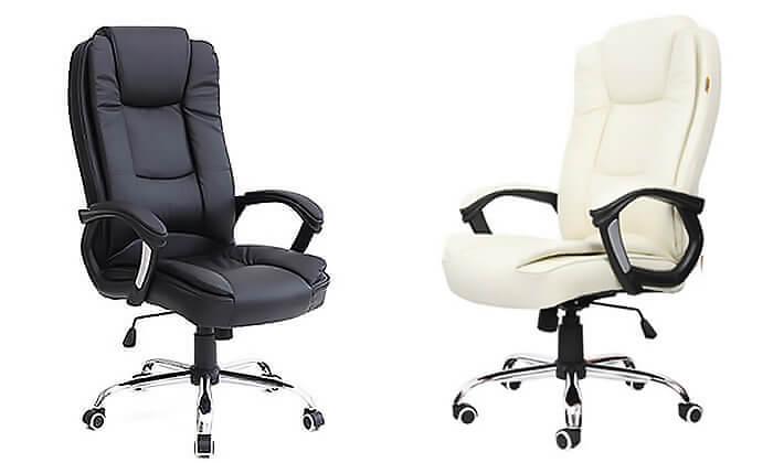 2 כיסא מנהלים אורתופדי