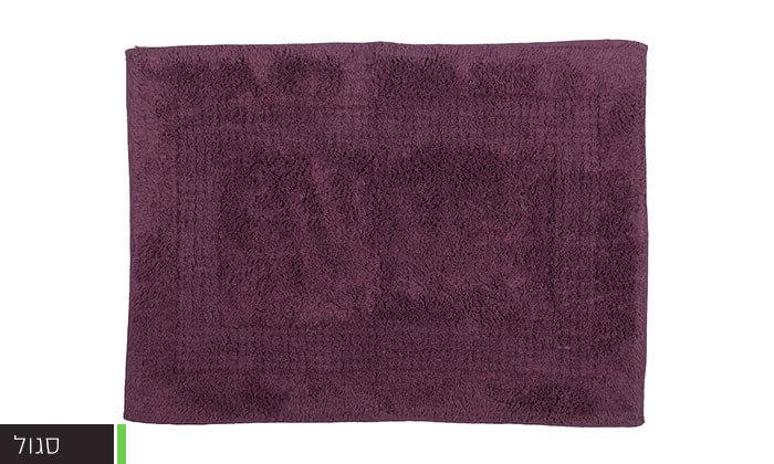 4 שטיחון אמבטיה 100% כותנה