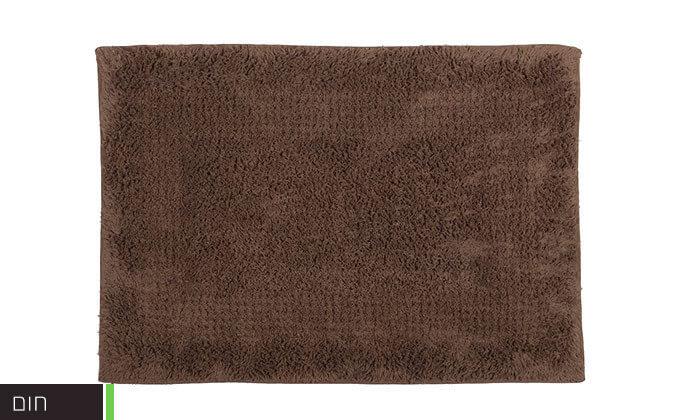 7 שטיחון אמבטיה 100% כותנה