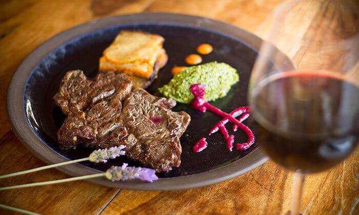 3 GROO PREMIUM   ארוחת גורמה זוגית במסעדת ADAMAבקתה קולינרית, זכרון יעקב