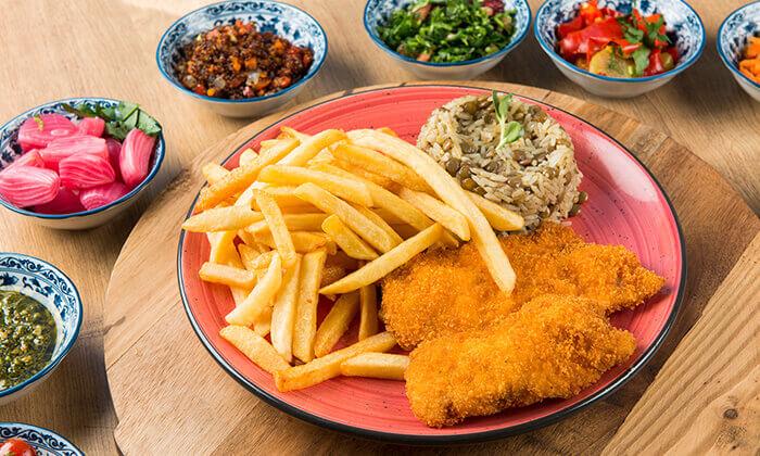 """6 ארוחה זוגית במסעדת """"צ'ומה"""" הכשרה בגן העיר, ת""""א"""