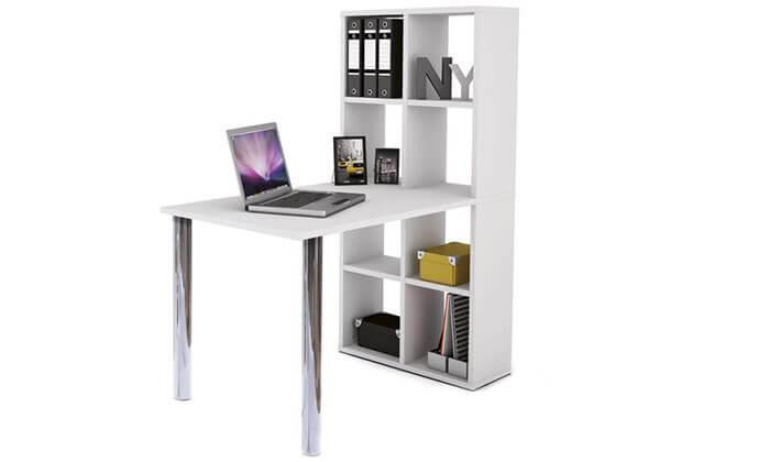 3 שולחן כתיבה משולב כוורת HOME DECOR
