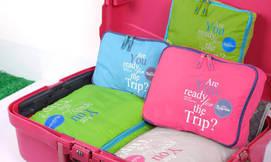 סט שימושי לאריזת מזוודה