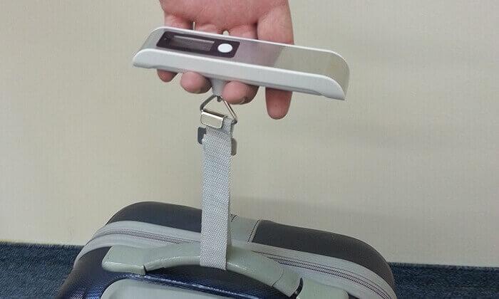 6 משקל, אירגונית מסמכים ותאי רשת לחלוקת מזוודה