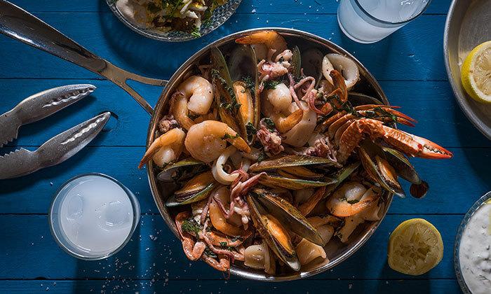 6 ארוחה זוגית במסעדת ג'קו מאכלי ים, רמת השרון