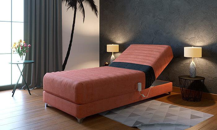 2 מיטת יחיד אורטופדית חשמלית RAM DESIGNE