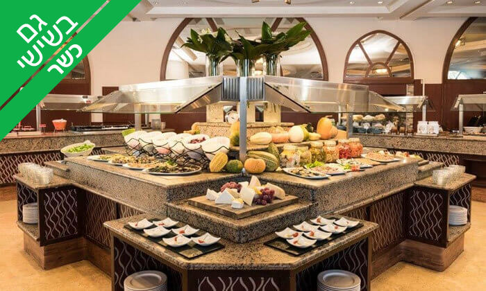 3 ארוחת בוקר בופה במלון לאונרדו ירושלים