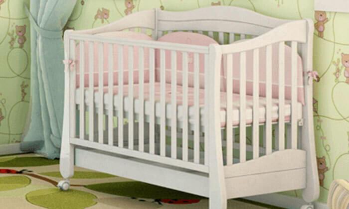 4 מיטת תינוק 'משכל' - דגם קצפת