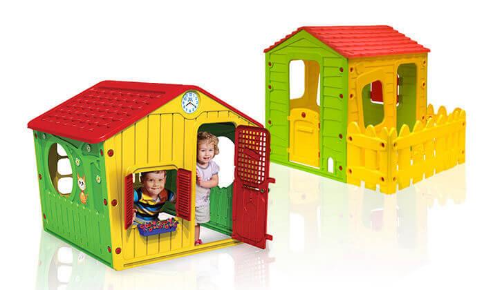 7 בית פלסטיק מפואר לילדים