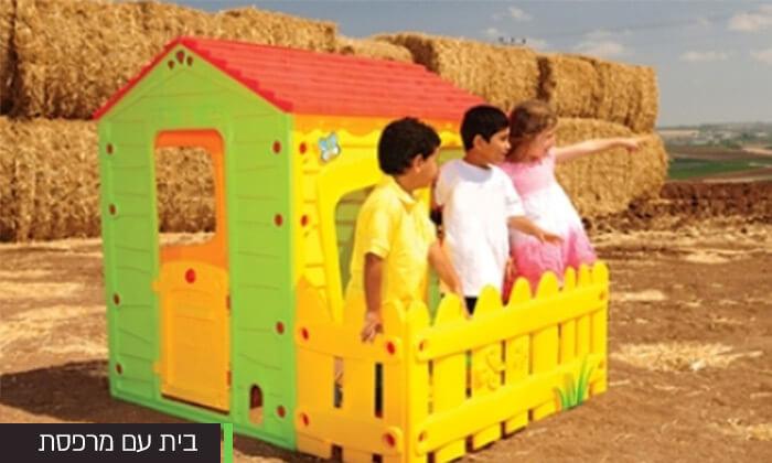 3 בית פלסטיק מפואר לילדים