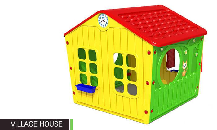 5 בית פלסטיק מפואר לילדים