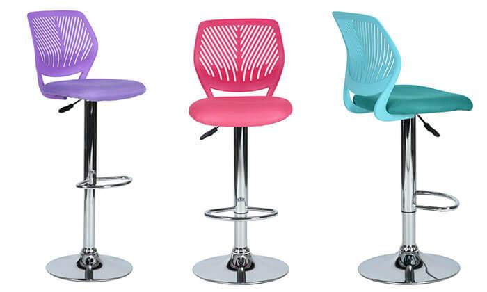 מעולה כסא בר עם מושב מרופד | גרו (גרופון) ZA-91