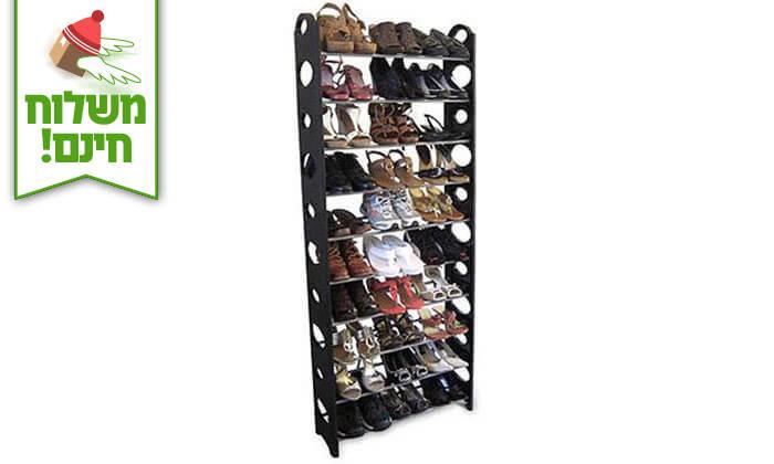 3 מעמד לעד 30 זוגות נעליים - משלוח חינם