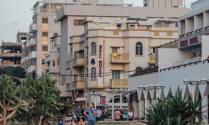 4 יום פינוק עם עיסוי בספא מלון Bell, תל אביב