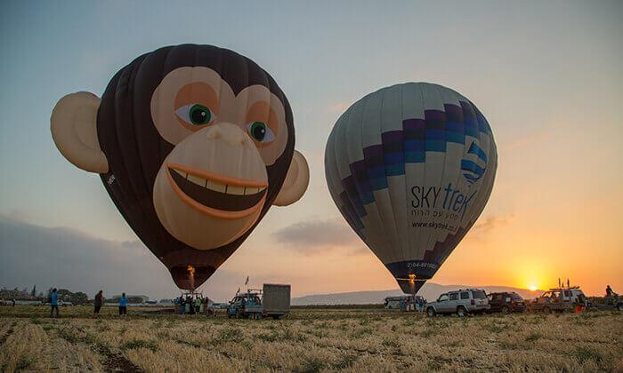 3 טיסה בכדור פורח של חברת סקיי טרק