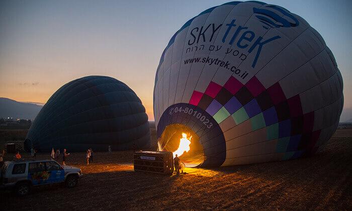 4 טיסה בכדור פורח של חברת סקיי טרק