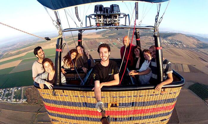 7 טיסה בכדור פורח של חברת סקיי טרק