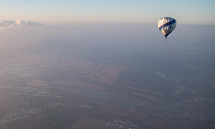 8 טיסה בכדור פורח של חברת סקיי טרק