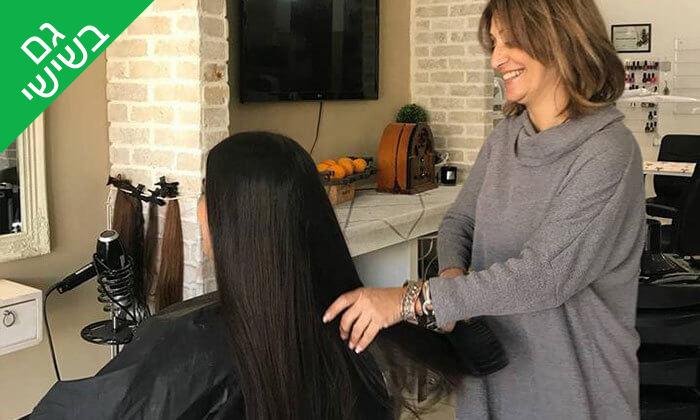 3 טיפולי שיער במרכז טיפולים ויופי של סיגלית גל, עפולה