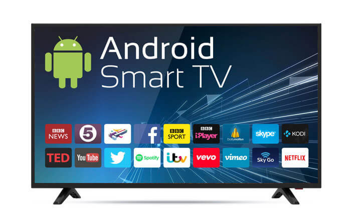 2 טלוויזיה 40 אינץ' PEERLESS LED FULL HD SMART