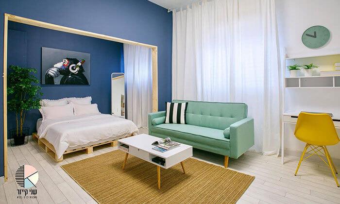 3 ספה תלת מושבית נפתחת למיטה