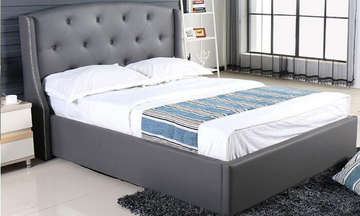 2 מיטה זוגית עם ארגז מצעים Vitorio Divani