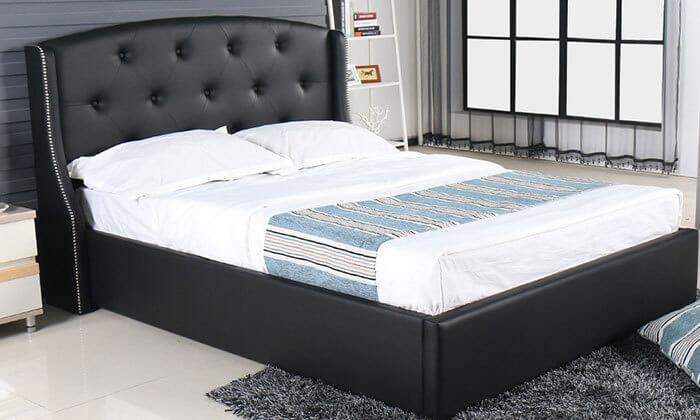 4 מיטה זוגית עם ארגז מצעים Vitorio Divani