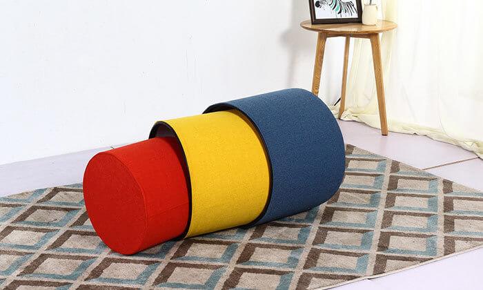 4 סט 3 הדומים צבעוניים