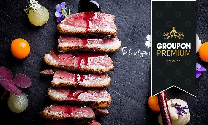 2 Groupon Premium | ארוחת טעימות כשרה במסעדת האקליפטוס של שף משה בסון
