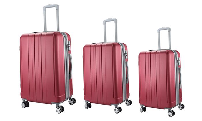 4 סט 3 מזוודות קשיחות darna