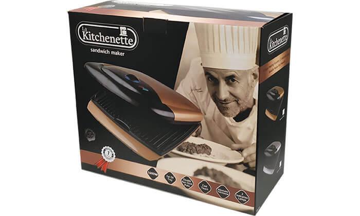 7 טוסטר לחיצה 4 פרוסות לה קיטשנט la kitchenette