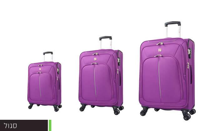 4 סט מזוודות SWISS