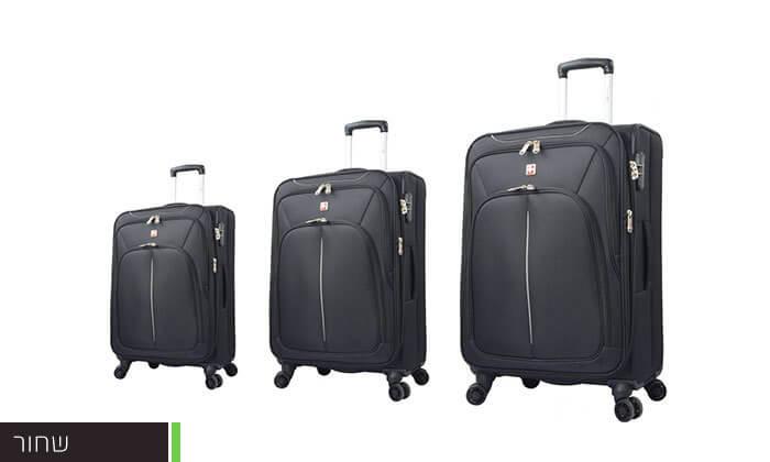 5 סט מזוודות SWISS