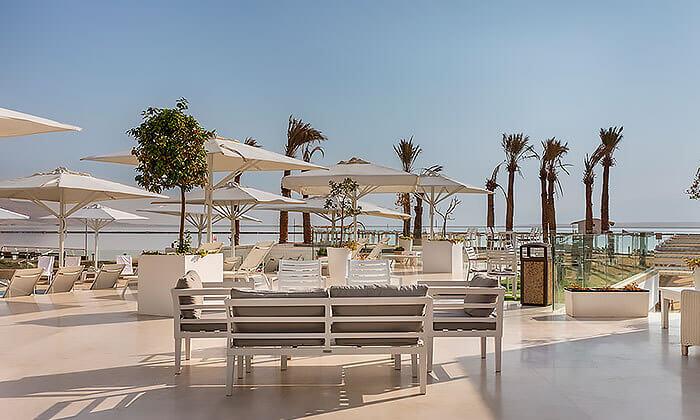 12 יום כיף כולל עיסוי בספא מלון הוד המדבר, ים המלח
