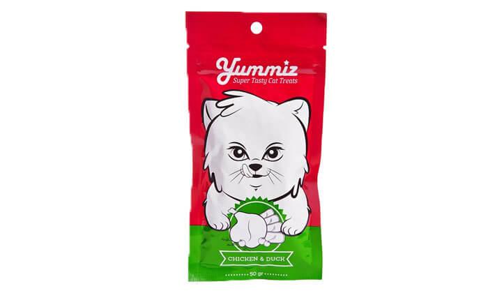3 חטיף YUMMIZ לחתולים