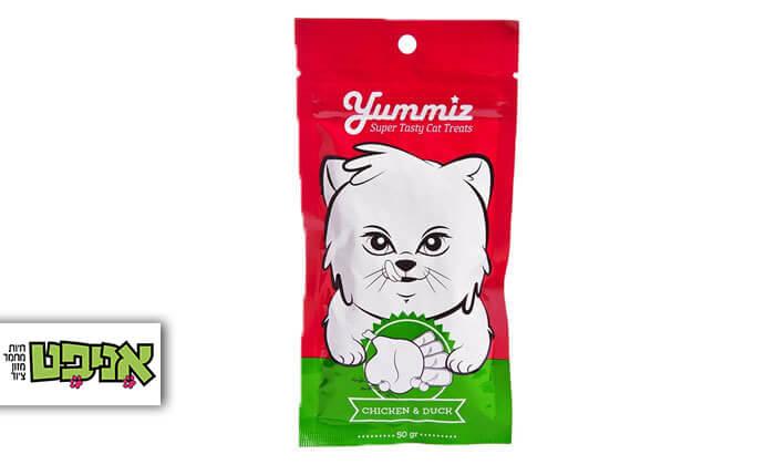 2 חטיף YUMMIZ לחתולים