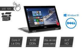 מחשב נייד Dell עם מסך מגע ''13