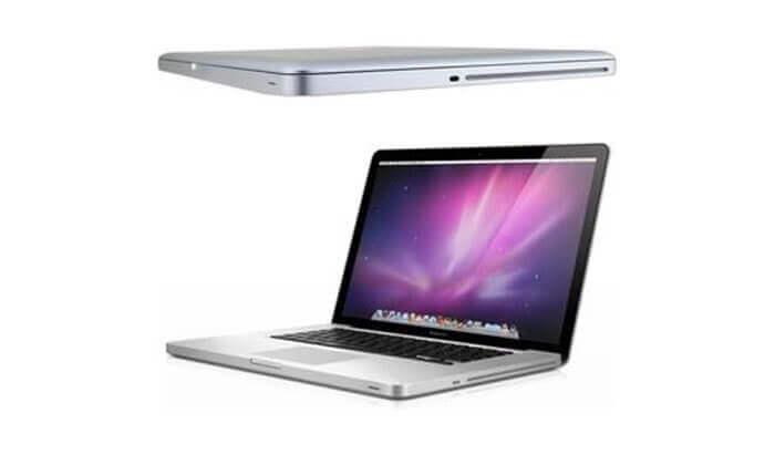 4 מחשב נייד Apple MacBook עם מסך 15.4 אינץ'