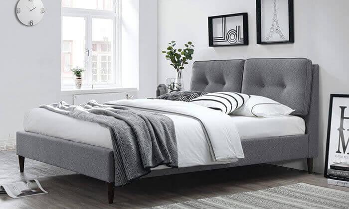 4 מיטה זוגית מעוצבת HOME DECOR