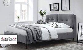 מיטה זוגית מעוצבת HOME DECOR