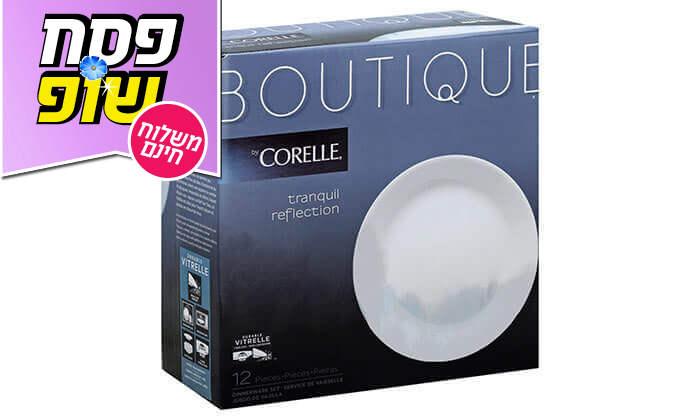 3 סט צלחות 12 חלקים CORELLE® - משלוח חינם!