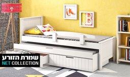 מיטת ילדים נפתחת דגם אלמוג