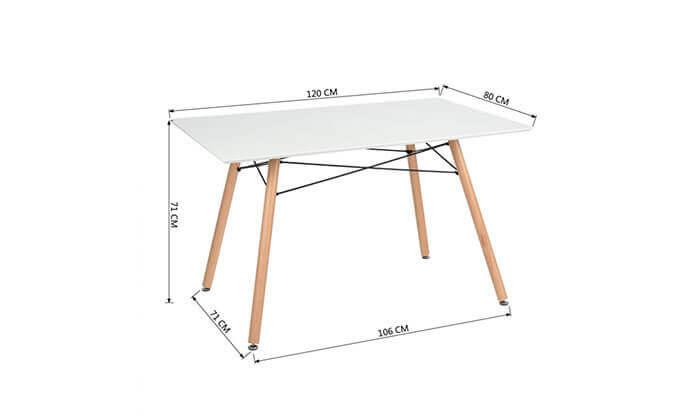 3 שולחן פינת אוכל HOMAX