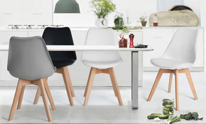 4 זוג כסאות HOMAX