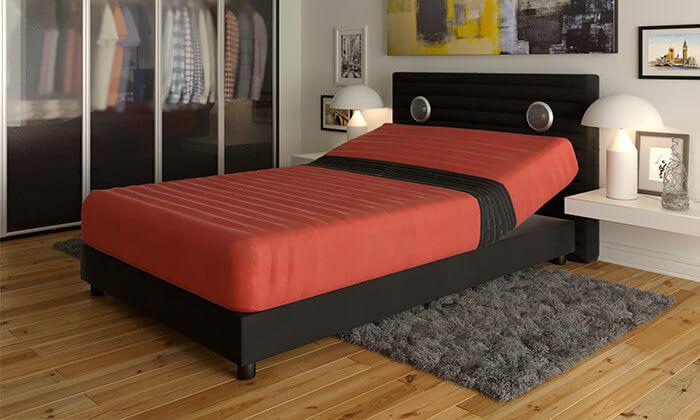 3  מיטה אורתופדית חשמלית ברוחב וחציRAM DESIGN
