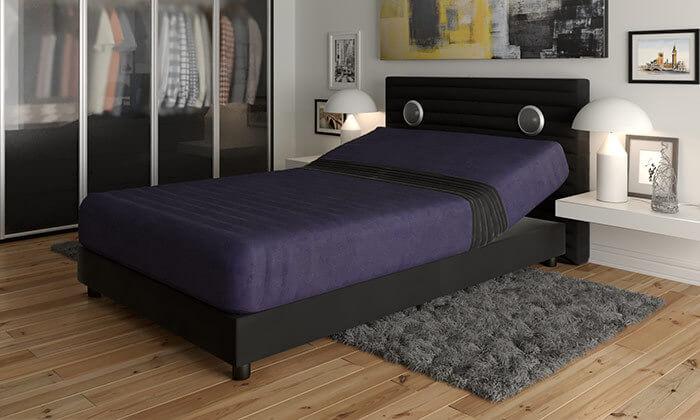 4  מיטה אורתופדית חשמלית ברוחב וחציRAM DESIGN