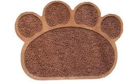 שטיח רצפה בצורת כף רגל של כלב